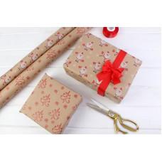 Пакувальний папір, новорічна
