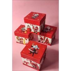 Подарункова коробка з Дідусем Морозом