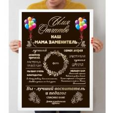 Постер для вихователя